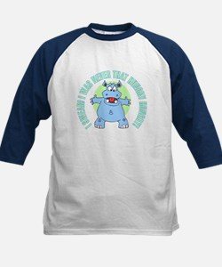 I Was Never That Hungry HIPPO Kids Baseball Jersey