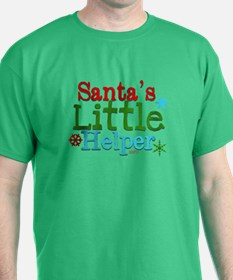Santas Little Helper T-Shirt