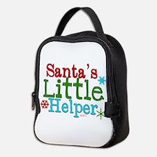 Santas Little Helper Neoprene Lunch Bag
