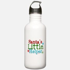 Santas Little Helper Water Bottle