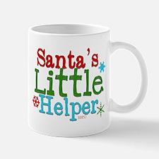 Santas Little Helper Mugs