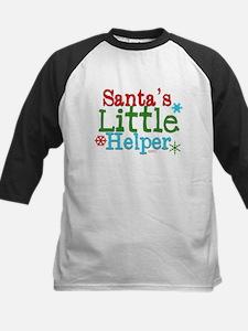 Santas Little Helper Baseball Jersey