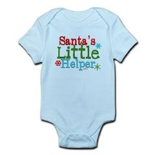 Santas Little Helper Body Suit