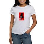 Knitting Retro Scottie Dog Women's T-Shirt