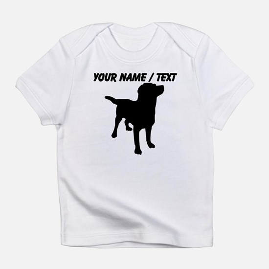Custom Dog Silhouette Infant T-Shirt