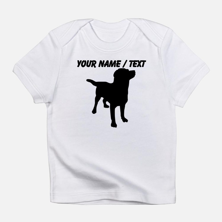 Personalized labrador baby clothes gifts baby clothing for Custom pet t shirts