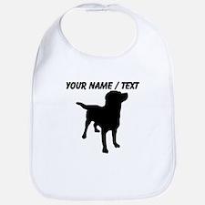 Custom Dog Silhouette Bib