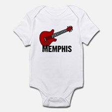 Guitar - Memphis Infant Bodysuit