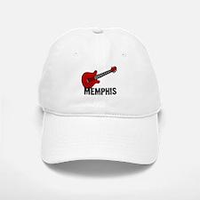 Guitar - Memphis Baseball Baseball Cap