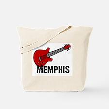 Guitar - Memphis Tote Bag