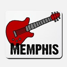 Guitar - Memphis Mousepad