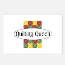 Quilting Queen Postcards (Package of 8)