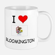 I Love BLOOMINGTON Illinois Mugs