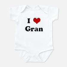I Love Gran Infant Bodysuit