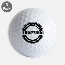 EruptionStudio Golf Ball