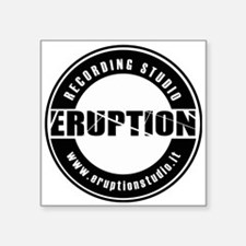 "EruptionStudio Square Sticker 3"" x 3"""