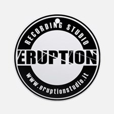 EruptionStudio Round Ornament