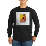 Knitting is Bliss Long Sleeve Dark T-Shirt