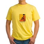 Knitting is Bliss Yellow T-Shirt