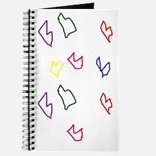 Love Hearts Journal