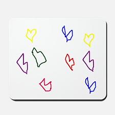 Love Hearts Mousepad