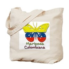 Mariposa Colombiana Tote Bag