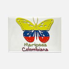 Mariposa Colombiana Rectangle Magnet