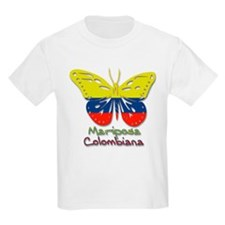 Mariposa Colombiana Kids T-Shirt