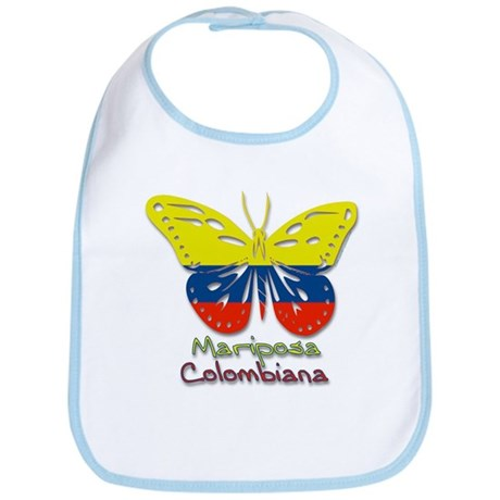 Mariposa Colombiana Bib