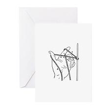 Knitting Diagram Greeting Cards (Pk of 10)