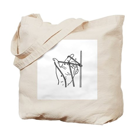 Knitting Diagram Tote Bag
