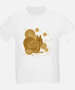 Nuts About Squirrels Kids T-Shirt