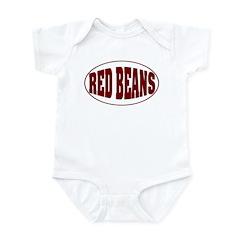 Red Beans Infant Bodysuit