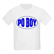 Po Boy Kids T-Shirt
