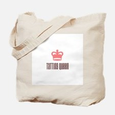 Tatting Queen Tote Bag