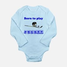 Born To Play Hockey Body Suit