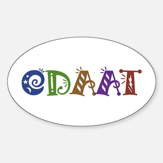 One Day At A Time ODAAT Oval Decal