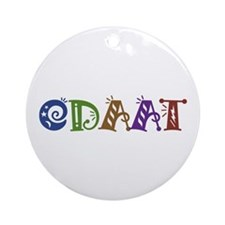 One Day At A Time ODAAT Ornament (Round)