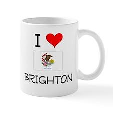 I Love BRIGHTON Illinois Mugs