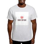 Rubber Stamp Queen Ash Grey T-Shirt