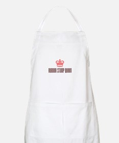Rubber Stamp Queen BBQ Apron