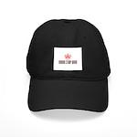 Rubber Stamp Queen Black Cap