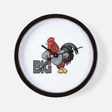 Big Rooster Innuendo Wall Clock