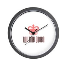 Quilting Queen Wall Clock