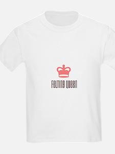 Felting Queen Kids T-Shirt
