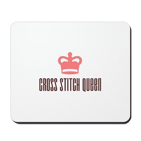 Cross Stitch Queen Mousepad