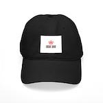 Crochet Queen Black Cap