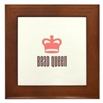Bead Queen Framed Tile
