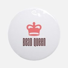 Bead Queen Ornament (Round)
