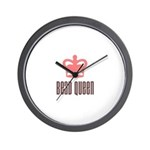Bead Queen Wall Clock